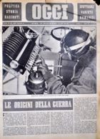 OGGI - ANNO II - N° 47 - 23 NOVEMBRE 1940 - BOMBARDIERE ITALIANO MANOVRA LA TASTIERA PER IL LANCIO DELLE BOMBE - War 1939-45
