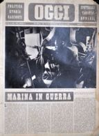 OGGI - ANNO II - N° 50 - 14 DICEMBRE 1940 - MITRAGLIERE AL SUO POSTO DI COMBATTIMENTO IN UN NOSTRO AEROPLANO - Oorlog 1939-45