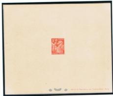 3f Iris Yvert 655 épreive De Luxe Avec Rabat - 1939-44 Iris