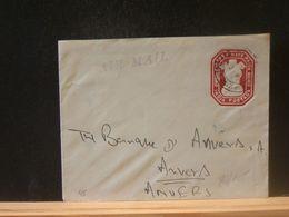 88/105      Enveloppe India Pour La Belg; - Cartas