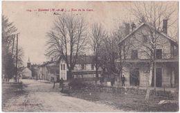 54. BLAMONT. Rue De La Gare. 104 - Blamont
