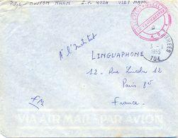GUERRE D'INDOCHINE/VIET-NAM  PILOTE NGUYEN NHAN S.P. 4.024 TàD POSTES AUX ARMEES  TOE Du 3-1-1955 - Marcophilie (Lettres)