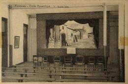 Florennes // Ecole Apostolique - Grande Salle 1937 Tape Rest! - Florennes