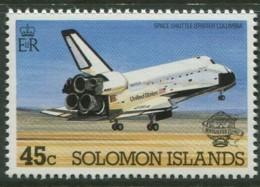 Solomon Islands, 1983, Space Shuttle, Manned Flight, MNH, Michel 498 - Solomoneilanden (1978-...)