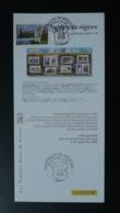 Portraits De Régions Alignements Carnac 56 Morbihan Notice FDC Avec Timbre - Multilingual FDC 2005 - Prehistoria