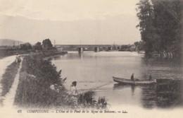 CPA - Compiègne - L'oise Et Le Pont De La Ligne De Soissons - Compiegne