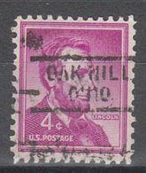 USA Precancel Vorausentwertung Preo, Locals Oak Hill 729 - United States