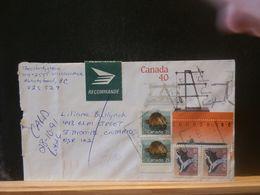 88/130  REGISTRED  LETTRE  CANADA - Recomendados