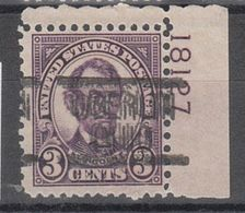 USA Precancel Vorausentwertung Preo, Locals Oberlin 635-548, Plate# - United States