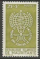 Mauritania - 1962 Anti Malaria Campaign 25f+5f   MNH **     Sc B16 - Mauretanien (1960-...)