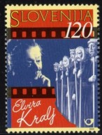 Slovenia, 2000, Elvira Kralj, Actress, Film MNH, Michel 285 - Slovenia