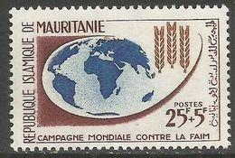 Mauritania - 1963 Freedom From Hunger 25f+5f   MNH **     Mi 200  Sc B17 - Mauretanien (1960-...)