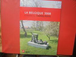 2008 TIMBRES+LE LIVRE DE L'ANNEE COMPLET (800 Grammes) - Belgium