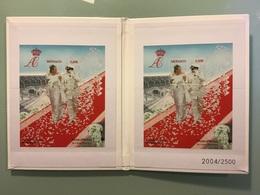 Coffret Mariage Princier  2 Juillet 2011 - MonacoPhil 2011 Numéroté 2004/2500 - Bloques