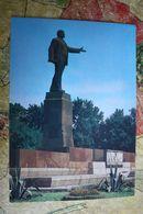 Tajikistan. Dushanbe. Lenin Monument 1982 - Tadjikistan