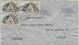 Mozambique Railway Cover ..Trains/Railway/Eisenbahnmarken/postal History - Trains