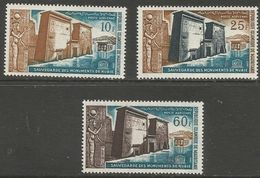 Mauritania - 1964 UNESCO Nubian Monuments  MNH **     Mi 226-8  Sc C32-4 - Mauritania (1960-...)