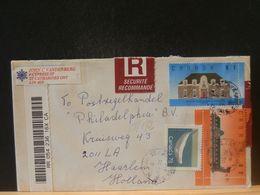 88/172  LETTRE  CANADA  REGISTRED  TO HOLLAND 1990 - Recomendados