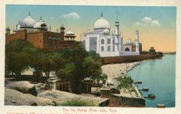 INDIA - The Taj Mahal River Side AGRA - Inde