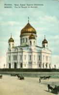RUSSIA - Vue Du Temple Du Sauveur - Russie