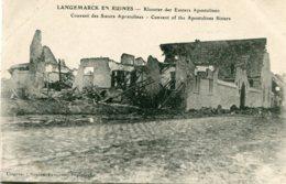 BELGIUM - World War I - La Grande Guerre - Langemarck En Ruines - Convent Of The Apostolines Sisiters - Software