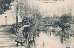 MAUZE SUR LE MIGNON - N° 3762 - SOUS LES MOULINS - Mauze Sur Le Mignon