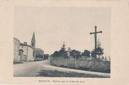 BRIOUX - ENTREE PAR LE POINT DU JOUR - Brioux Sur Boutonne