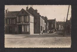 """CPSM Pf . 50 . LE BECQUET . Rue Du Port . """" CAFÉ CHARLES LOIR """". - France"""