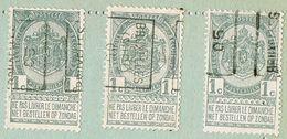 Voorafgestempeld 1905 (Bruxelles - Bruxelles Midi) - Non Classés