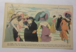 Künstlerkarte, Frauen, Männer, Mode, Priester,   1910, Xavier Saga ♥ (73004) - Illustrateurs & Photographes