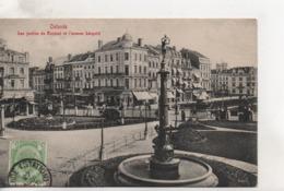 CPA.Belgique.Ostende.Les Jardins Du Kursaal Et L'avenue Léopold - Oostende