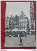 BRUXELLES -   Marché Aux Fleurs  -  Grand Place  -   1901     - - Marchés