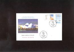 Olympics 2000 FDC Of Turkey Cypris - Summer 2000: Sydney