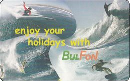 Bulgaria Chip Phonecard  Surfing Surfen Watersport Bul Fon - Bulgarie