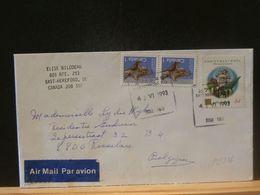 88/216 LETTRE   CANADA VENTE RAPIDE A 1 EURO - 1952-.... Regering Van Elizabeth II