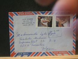 88/217 LETTRE   CANADA VENTE RAPIDE A 1 EURO - 1952-.... Regering Van Elizabeth II