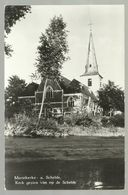 ***  MARIAKERKE A/SCHELDE  ***  -  Kerk Gezien Van Op De Schelde - Bornem