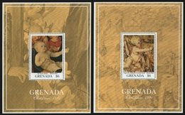 Grenada 1991 - Mi-Nr. Block 293-294 ** - MNH - Gemälde / Paintings - Dürer - Grenada (1974-...)
