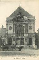 SL 10 Cpa 41 BLOIS Théâtre Asile Observatoire Fontaine Pont Chemin De Fer Hôpital Square Evêché Château - Blois