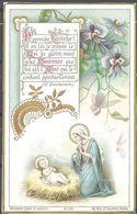 Image Pieuse Heureuse Crèche..... Bouasse Lebel Et Massin M 174 - Images Religieuses