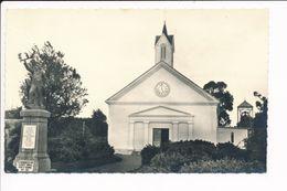 Carte De L' île De La Réunion SAINTE SUZANNE église Monument Aux Morts  ( Format C.P.A )( Recto Verso ) - La Réunion