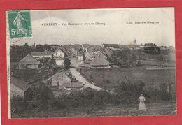 Haute-Saône - Arbecey - Vue Générale Et Vue De L'étang - Francia