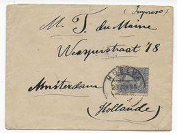 1899 - ESPAGNE - TARIF IMPRIME => HOLLANDE - LETTRE De HUELVA => AMSTERDAM - 1889-1931 Kingdom: Alphonse XIII