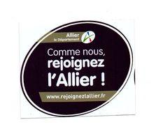 Autocollant Comme Nous Rejoignez L'Allier- Format: 10.5x9cm - Adesivi