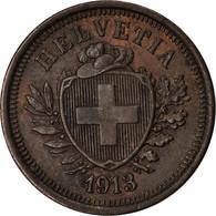 Monnaie, Suisse, Rappen, 1913, Bern, SUP, Bronze, KM:3.2 - Suisse