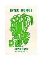 Autocollant Inter Humus Duclos Jonchery- Format: 11.5x8cm - Adesivi