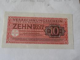 Deutsche Wehrmacht 10 Reichsmark 1944 - [ 4] 1933-1945 : Terzo  Reich