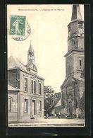 Metz-en-Couture, L'Eglise Et La Mairie TOP - Frankreich
