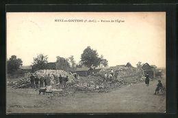 Metz-en-Couture, Ruines De L'Église RARE - Frankreich