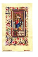 Image Pieuse Croyance Religion Communion Blanche Verschuur Vierge Enfant Jesus 2014 - Santini
